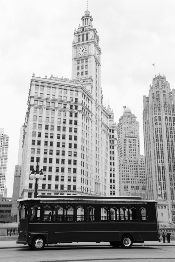 Exterior of the Wrigley Building Chicago