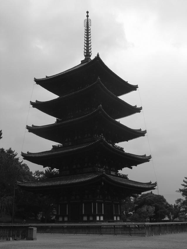 Temple silhouette