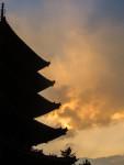 Sunset in Nara