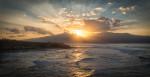 Sunset at Ho'okipa