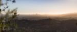 Panorama of Los Angeles, west toward Century City