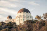 Griffith Observatory, facing north
