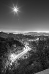 Winding Road in Griffith Park