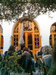 Patio at Paris Grand Mosque Tea Room