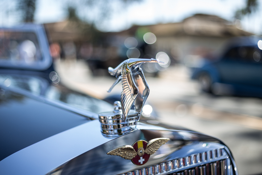 1935 Hispano Suiza J-12 Cabriolet hood ornament