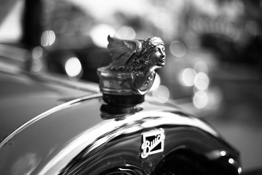 Classic Buick hood ornament