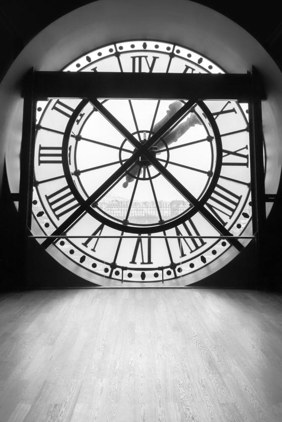 Clock at Musee d'Orsay