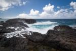 Waves on rocks, Kauai