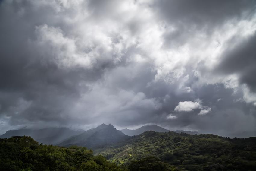 Storm over Hanalei