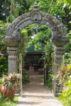 Kauai Hindu Monastery Entrance