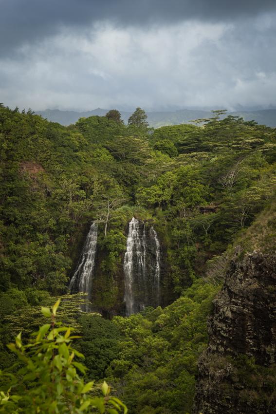 Opaekaa Falls, Kauai