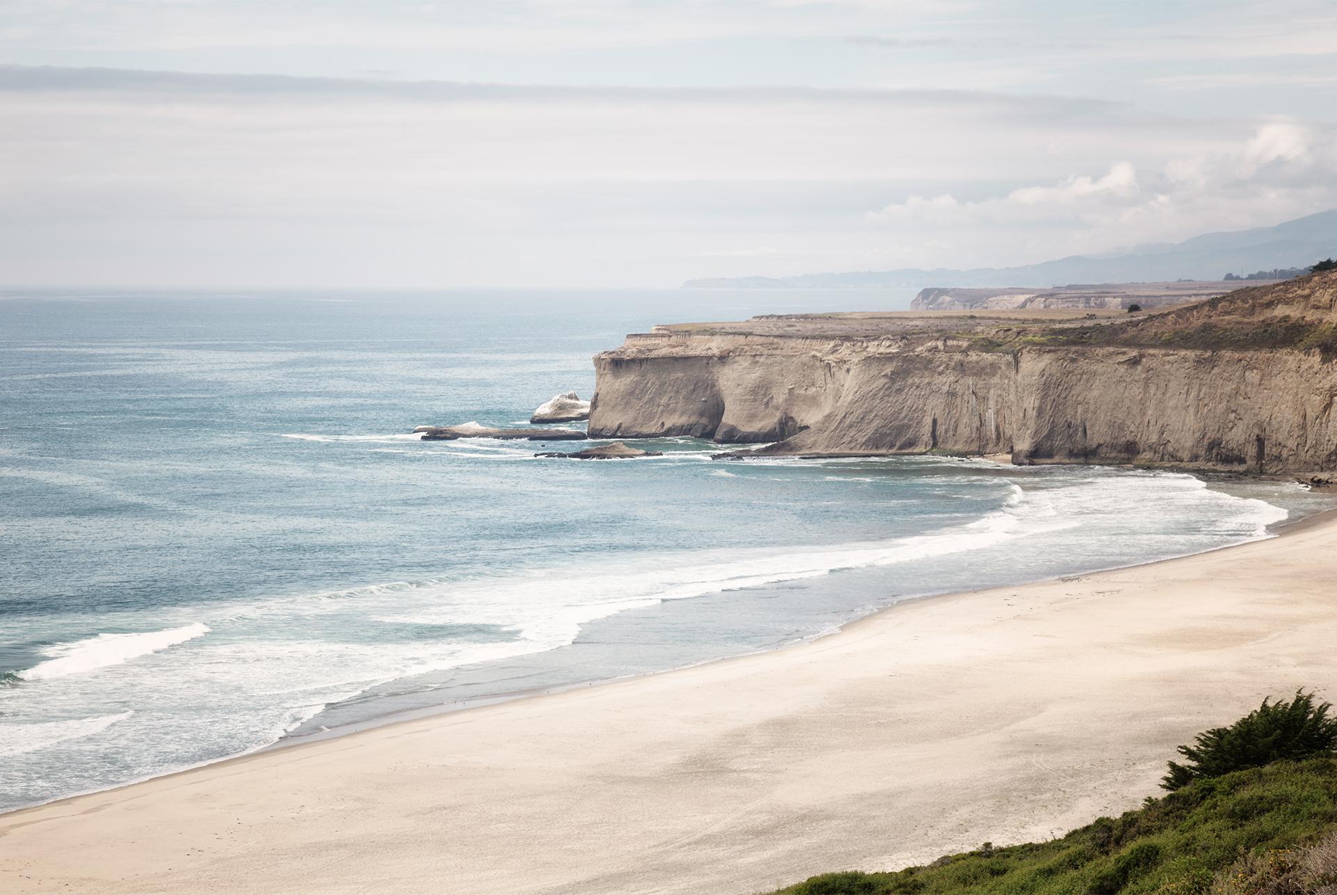 Sea Cliffs Calif Coast
